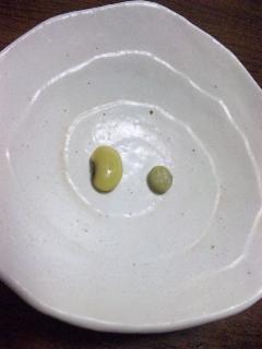 青大豆煮てみました