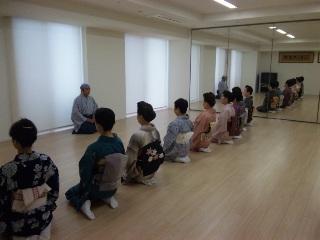 宗家「松の緑」講習会